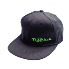 Panther Tires Black Flat Bill Logo Hat